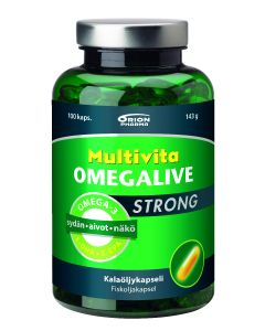 Multivita Omegalive Strong 100 капсул.
